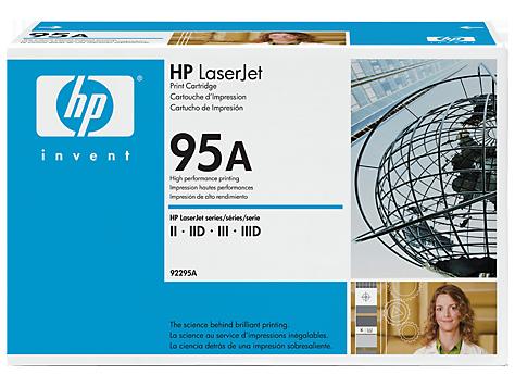 Cartuchos de impresión de la gama HP LaserJet 92295