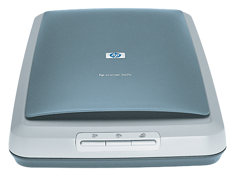 HP Scanjet 3670 Scanner series