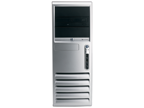 PC minitower convertibile HP Compaq dc7608