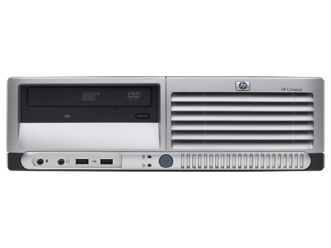 PC con factor de forma reducido HP Compaq dc7600