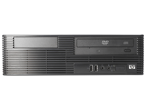 PC HP Compaq dx7400 con factor de forma reducido