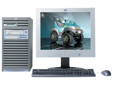 HP-Workstation c3750