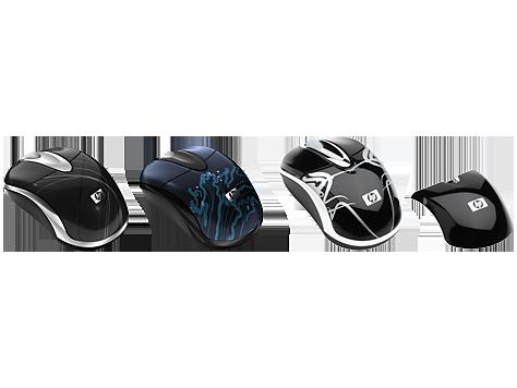 Mouse ottico senza fili HP series