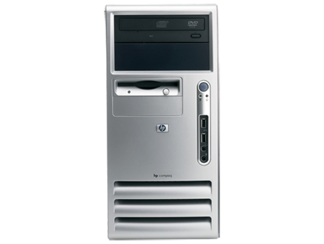PC desktop microtower HP Compaq dx7200