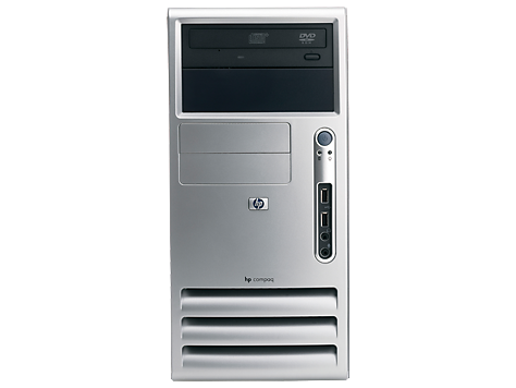 HP Compaq dc5100 Microtower stationär PC