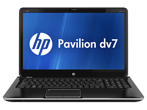 HP Pavilion dv7-7000 Quad Edition Entertainment notebook pc-serie