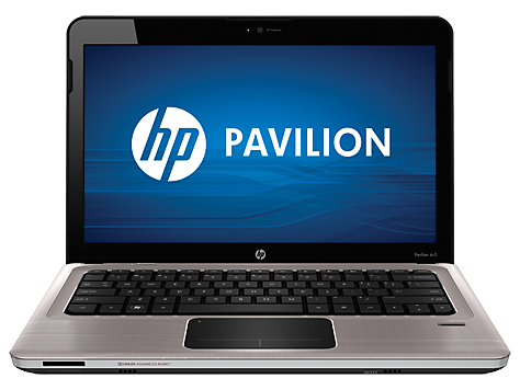 HP Pavilion dv3-4000 Entertainment Notebook PC series