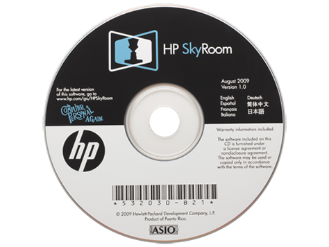 HP SkyRoom v1 Software