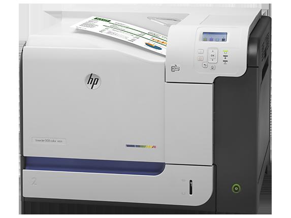 HP LaserJet Enterprise 500 color Printer M551n - Left