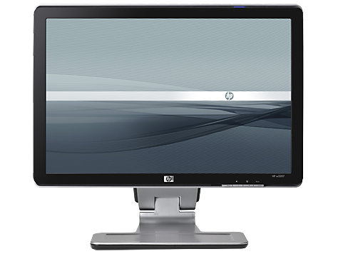 hp w2207 22 inch widescreen lcd monitor user guides hp customer rh support hp com HP W2007 Monitor Problems HP W2007 Wide LCD Monitor