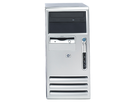 HP Compaq dx6100 Microtower-pc