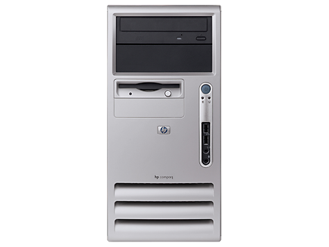 HP Microtower-Desktop-PC d325