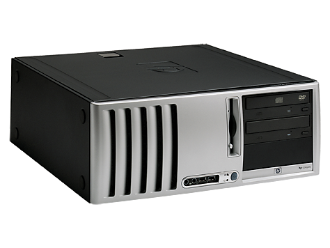 HP Compaq Convertible Minitower-Desktop-PC d530