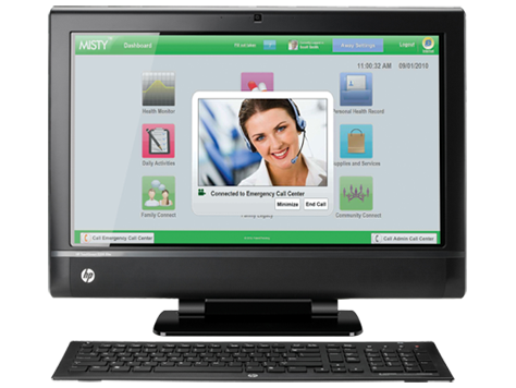 HP TouchSmart 9300 EliteAll-in-One-PC
