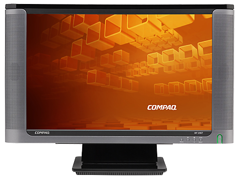 compaq wf1907 19 inch diagonal lcd monitor user guides hp rh support hp com HP W2207 Wide LCD Monitor HP W2207 Wide LCD Monitor