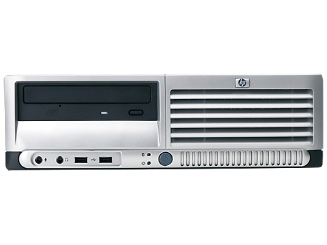 PC HP Compaq dc7700 con Factor de Forma Reducido