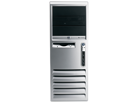 HP Compaq dc7700-Convertible Minitower-PC