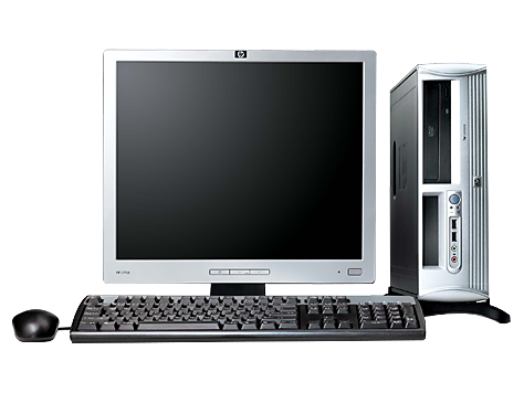 PC HP Compaq dx2700 con Factor de forma reducido