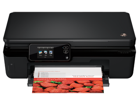 เครื่องพิมพ์ HP Deskjet Ink Advantage 5520 e-All-in-One series