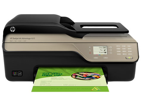 Impressora multifuncional HP Deskjet 4610 Ink Advantage