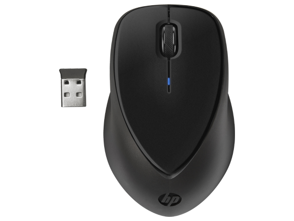 HP Comfort Grip Wireless Mouse - Center