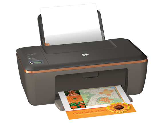 HP Deskjet 2512 All-in-One Printer - Right