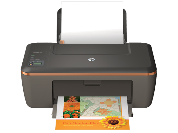 HP Deskjet 2512 All-in-One Printer - Center