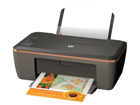 HP Deskjet 2512 All-in-One Printer - Left