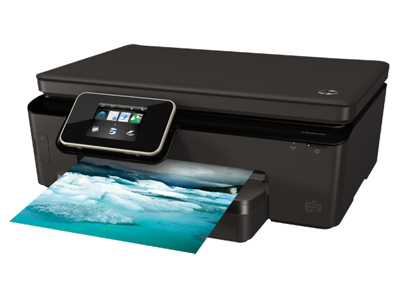 HP Photosmart 6520 e-All-in-One Printer - Left