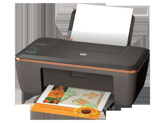 HP Deskjet 2514 All-in-One Printer - Left