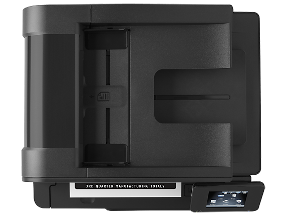 HP LaserJet Pro 400 MFP M425dn - Top view closed