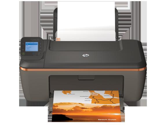 HP Deskjet 3512 e-All-in-One Printer - Center