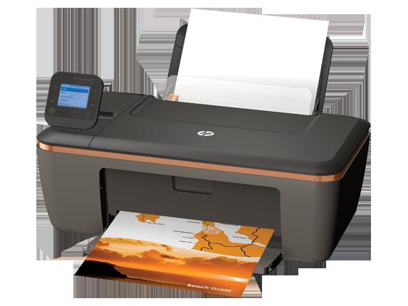 HP Deskjet 3512 e-All-in-One Printer - Left