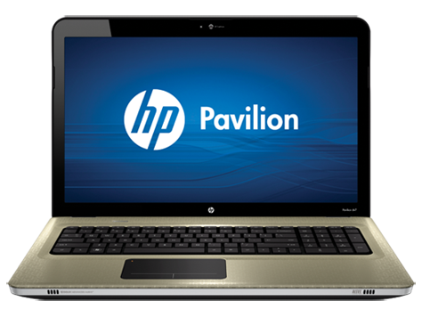 HP Pavilion dv7-4100 Entertainment Notebook serie
