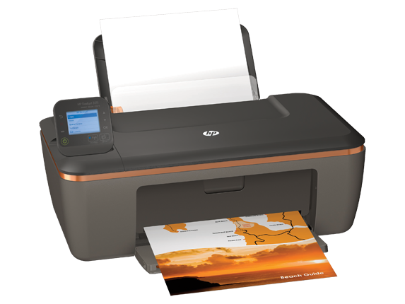 HP Deskjet 3511 e-All-in-One Printer - Right