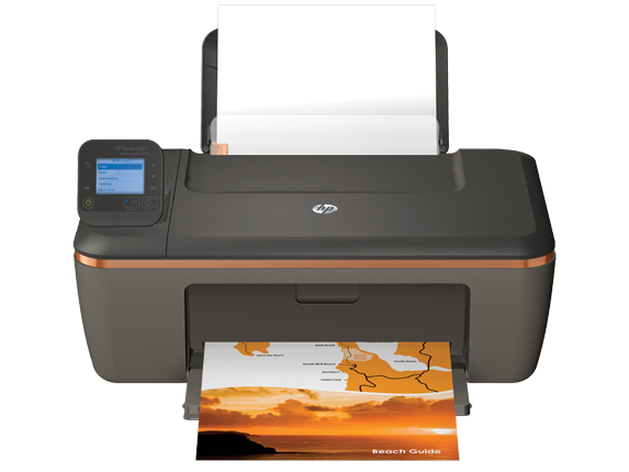 HP Deskjet 3511 e-All-in-One Printer - Center