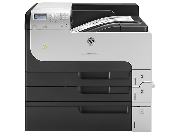 HP LaserJet Enterprise 700 Printer M712xh - Center