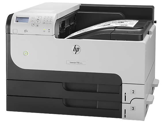 HP LaserJet Enterprise 700 Printer M712dn - Left