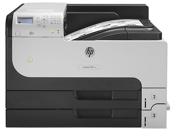 HP LaserJet Enterprise 700 Printer M712n - Center