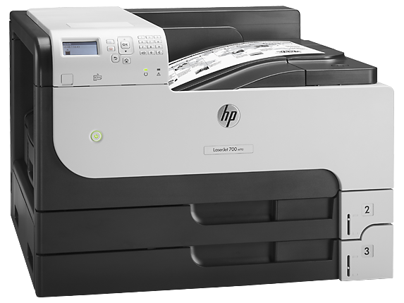 HP LaserJet Enterprise 700 Printer M712dn - Right