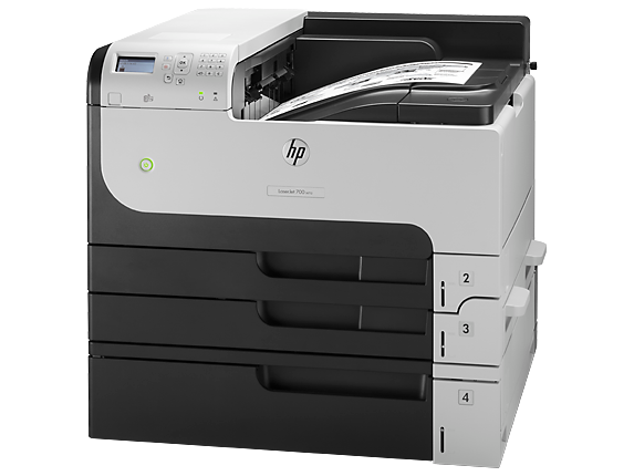 HP LaserJet Enterprise 700 Printer M712xh - Left
