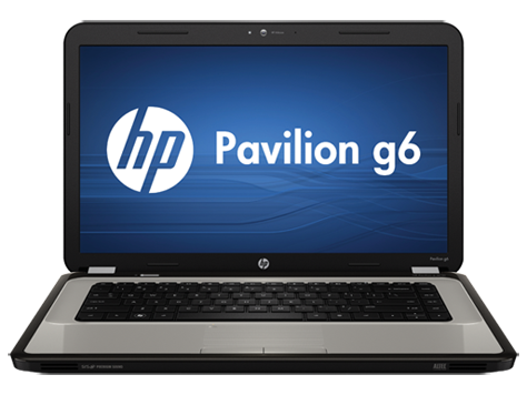 Notebook-PC der Modellreihe g6-1000 HP Pavilion