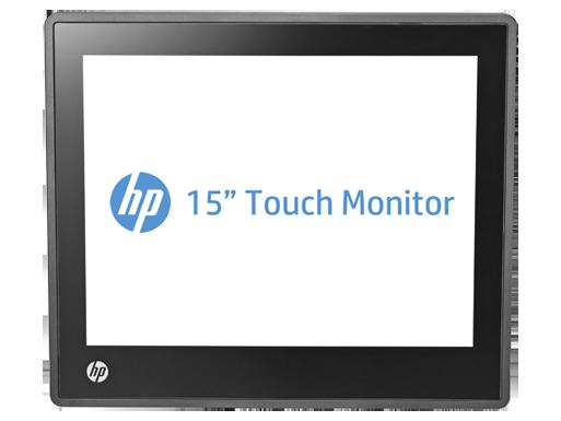 צג מגע HP L6015tm Retail בגודל 15 אינץ'