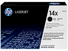 HP 14X High Yield Black Original LaserJet Toner Cartridge, CF214X