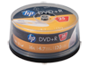 HP DVD+R Media - 25 Pack - Center