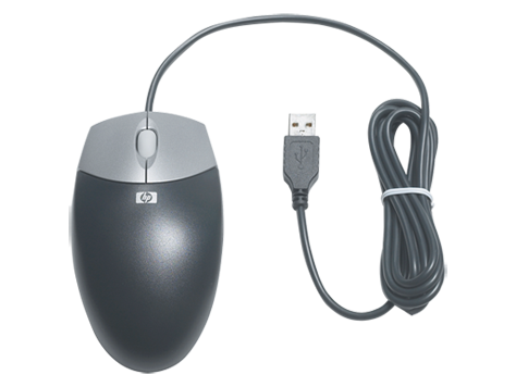 HP USB Optical Scrolling Mouse
