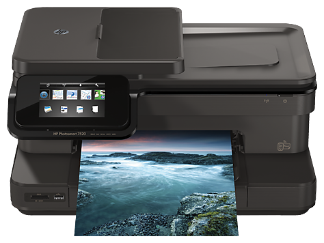 HP Photosmart 7520 e-All-in-One Printer Software and Driver