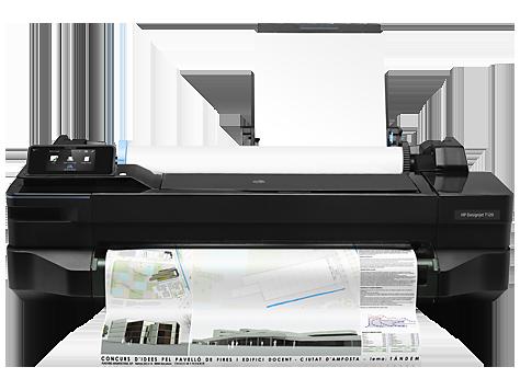 HP DesignJet T120 skrivare