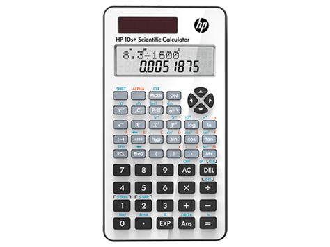 Calculatrice scientifique HP 10s+