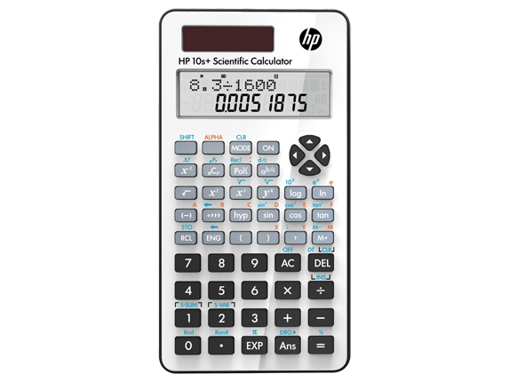 HP 10s+ Scientific Calculator - Center